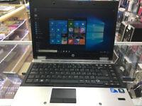 HP ELITEBOOK 8440P Laptop/ intel core i5 2nd Gen. Windows 10 Genuine Activated+ MS office