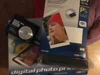 Sony Cyber Shot camera and photo Printer and accessories
