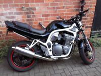 Suzuki Bandit GSF 600N sell or swap for car + parts