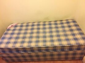 Single Bed Base with Mattress