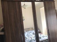 4 Door + 4 Drawer + 2 Mirrored + 3 drw Robe