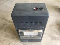 Calor gas fire heater with Gas bottle