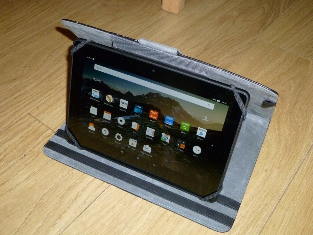 Amazon Kindle Fire HDX 8 9 (4th Generation) 16GB Tablet Computer eBook  Reader | in Clydebank, West Dunbartonshire | Gumtree