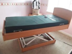 Rise & Recline Mobility Bed For Sale - Been Slept In Twice! Mint Condition! £1000.00 O.N.O