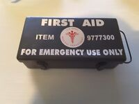 WW2 US first aid box and equipment