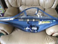 As new Grivit Telescopic Fishing Rod and reel Set. from Lidl's
