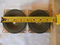 AKAI 10M-H44B MID RANGE SPEAKERS 100mm. vintage .
