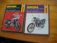 haynes motorcycle manuals