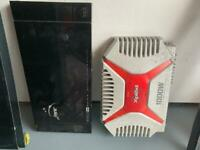 car audio amplifiers VIBE black box and sony xplode