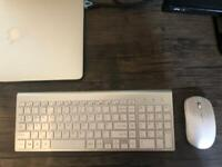 JoyAccess Wireless Keyboard and Mouse Rechargeable