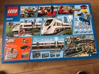 LEGO CITY 60051 HIGH SPEED PASSENGER TRAIN SET boxed