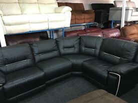 Ex Display LazyBoy Recliner Corner Sofa (left or right side Corner)