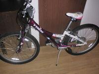 Girls Trek MT220 Purple and White Frame