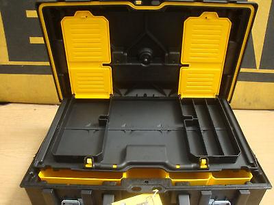 DEWALT DS150 TOUGH SYSTEM CARRYING CASE WITH BOXES 1 70 321 + 0 65 012 SET