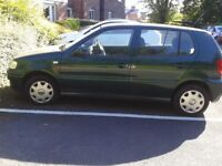 2001 Volkswagen Polo automatic.Great buy due to genuine very low mileage.