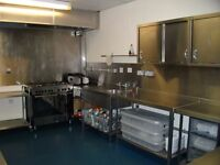 Small Commercial Kitchen available to rent