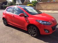 'Poppy' Mazda 2 Black, limited edition needs a new home. REDUCED in price for quick sale.