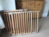 5 Wooden stair gates