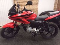 Honda CBF 125 with immaculate condition and low mileage