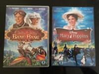Chitty and Mary Poppins dvd