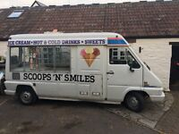 Ice cream van ready to go business £2,200