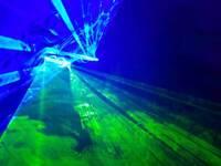 DJ lighting rig