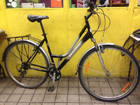 Hybrid town bike (dropped frame, 19 inch) - ready to ride!