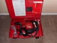 Hilti 76 Breaker/Drill combo sds max