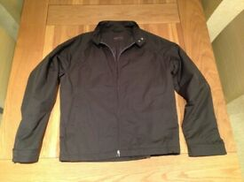 Nigel Hall Chocolate Brown Blouson-Style Men's Jacket (never worn) (large) JUST REDUCED