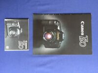 Canon Manual Brochure for Canon T90 and