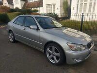 Lexus is200 se Auto 2002 service history long mot bargain
