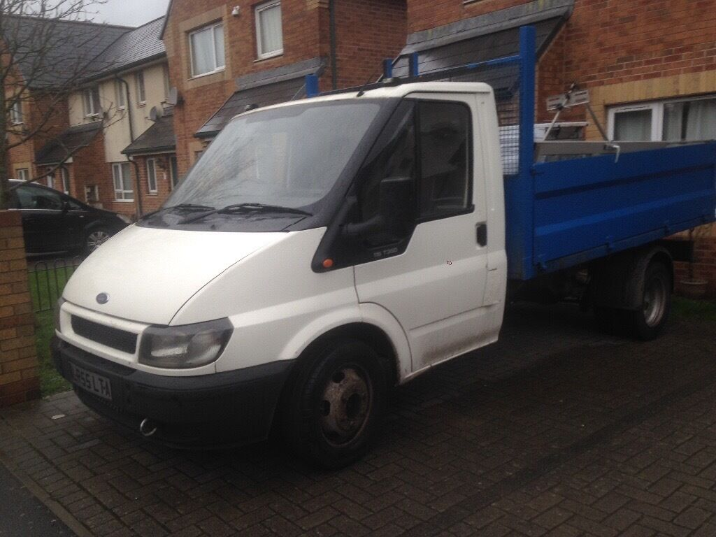 Ford Transit Tipper Extra High Body Tipper 55 Plate Mot D