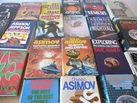 Collection of 21 Isaac Asimov Hardback Books, most First Editions. £75