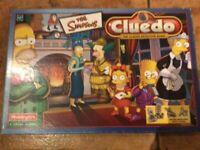 Simpsons Cluedo Game