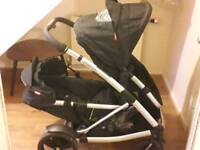 Double pushchair Phil and Teds
