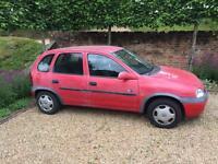 Vauxhall Corsa 1.2 (00/01) Cheap first car or run around/ Spares or repairs