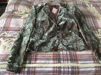 Velvet Tuzzi ladies jacket. Size 12