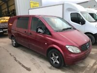 MERCEDES VITO-111CDI 56REG BREAKING FOR PARTS!!!!!
