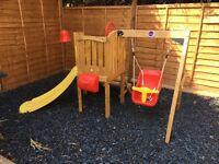 Toddler climbing frame