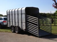 Ifor Williams Horse Box Trailer 12x6x7 also Sheep Cattle Livestock
