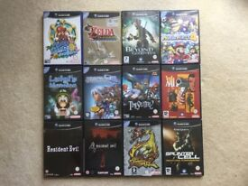 GameCube, four controllers, twenty nine games and a WaveBird