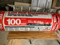 Loft Insulation Roll 100mm thick