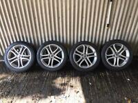 "Genuine 17"" Mercedes Benz A Class Sport Alloy Wheels - 5x112 - Will fit VW, Skoda, Seat"