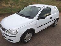 *** Vauxhall corsavan 2005 1 owner swap px car van ***
