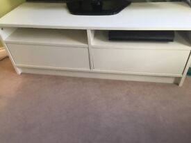 Tv stand with storage in great condition
