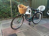 Vintage Universal La Riviera Ladies Town Bike with Basket