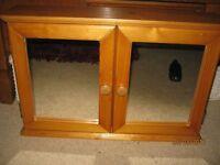 Pine Bathroon Cabinet