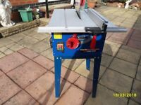 "10"" clarke table saw with stand"