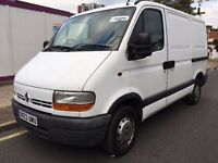2003 RENAULT MASTER SWB. 2 OWNERS. RECENTLY SERVICED. BRILLIANT DRIVE. 2017/06 MOT. WARRANTY OFFERED