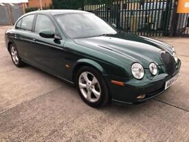 Jaguar S Type 3.0 V6 SPORT 4 Door Saloon (12 MONTHS MOT, JAGUAR SERVICE HISTORY, Cream Leather)